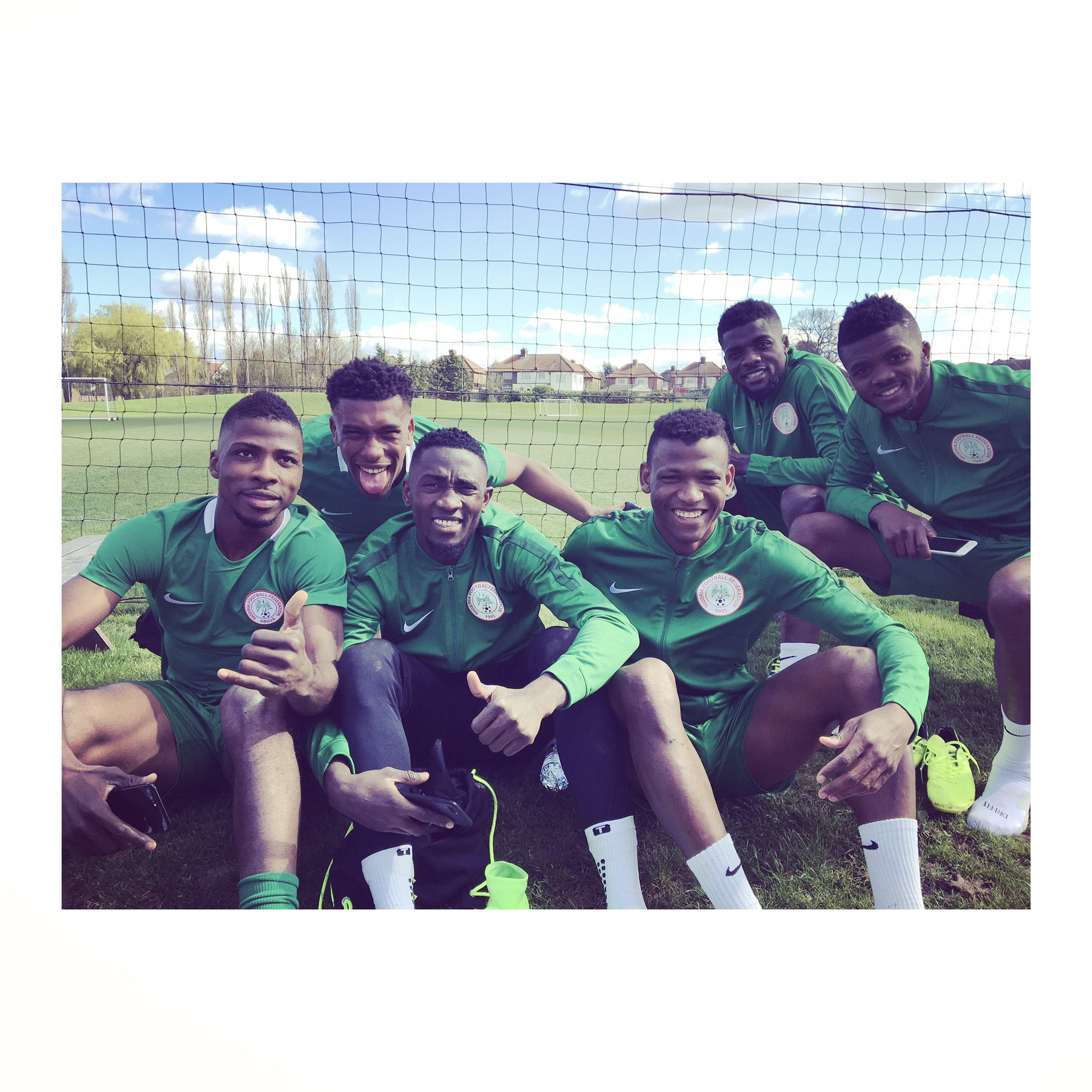 Ndidi, Success Thrilled By Super Eagles' Friendly Atmosphere