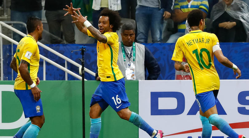 Brazil Qualify For Russia 2018; Sanchez Shines For Chile, Rodriguez Shine For Colombia