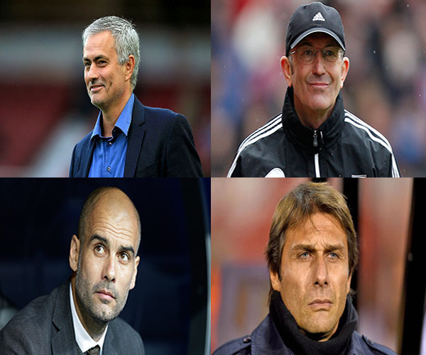 Conte, Guardiola, Mourinho Up For EPL February Best Manager Award