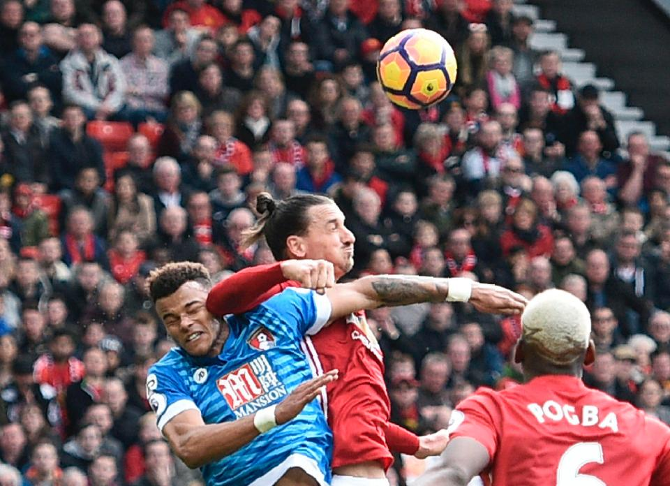FA Charge Zlatan, Mings For Violent Conduct