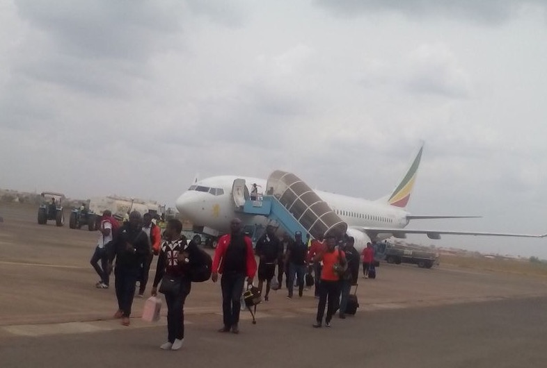 Rangers Arrive In Enugu From Cairo, To Group For CAFCL 2nd Leg Vs  Zamalek