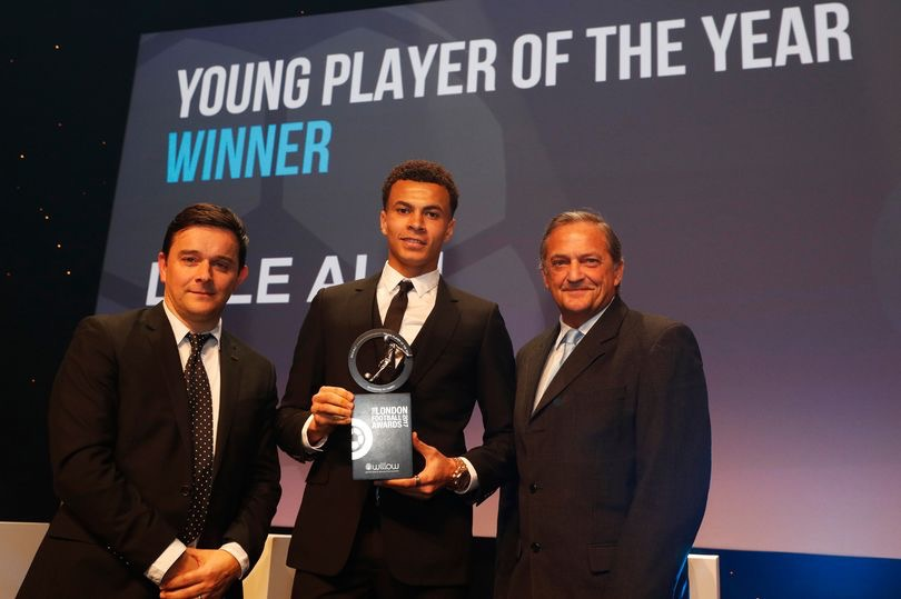 London Football Awards: Alli Beats Iwobi To Young Player Of The Year Award