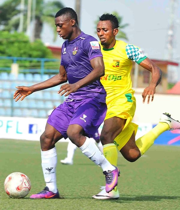 Odey Pleased To Surpass Last Season's Personal NPFL Goal Record