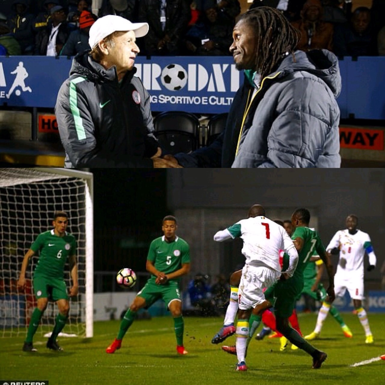 Rohr: Senegal Friendly Good Preparation For Physical Cameroon