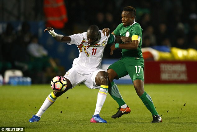 Onazi: Super Eagles Focused On Qualifying For 2018 W/Cup, 2019 AFCON