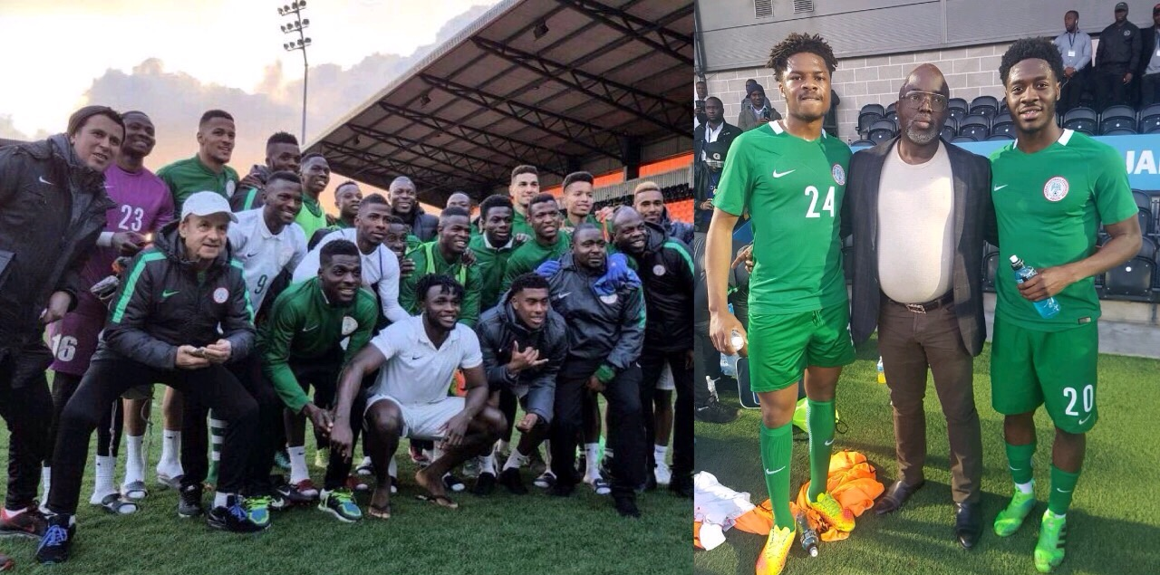 Rohr: New Players Eager To Compete For Shirts With Super Eagles Regulars