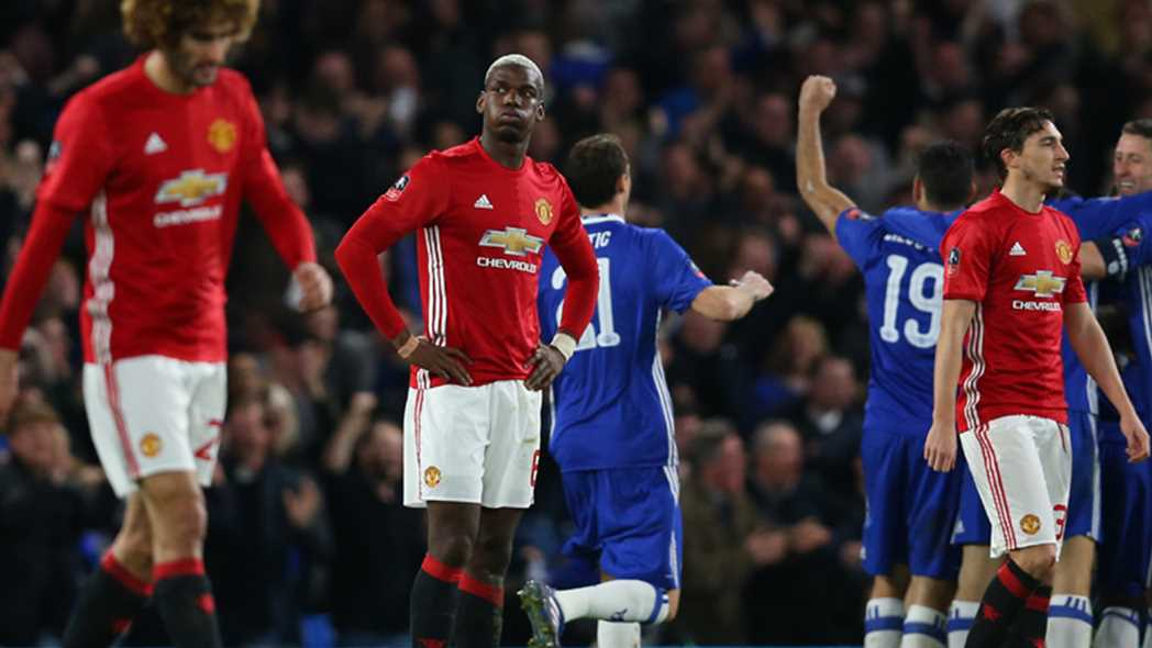 FA Charge Man United After Ill-Tempered Defeat To Chelsea