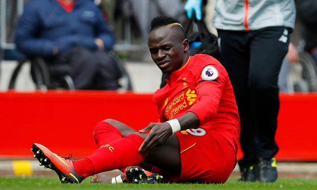 Mane Out For Season, Coutinho Doubtful For Stoke Vs Liverpool