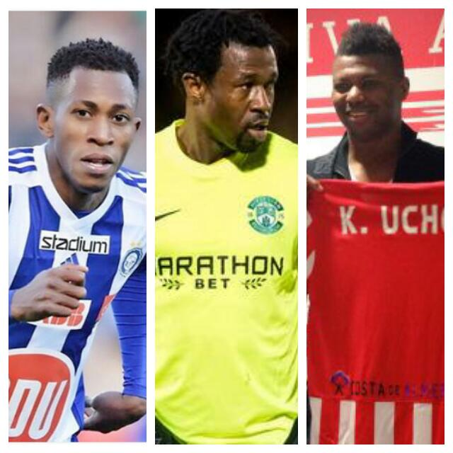 FREE AGENTS: 5 Europe-Based Nigerian Stars Out Of Contract This Summer