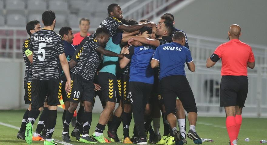 Michael Babatunde Helps SC Qatar Gain Promotion