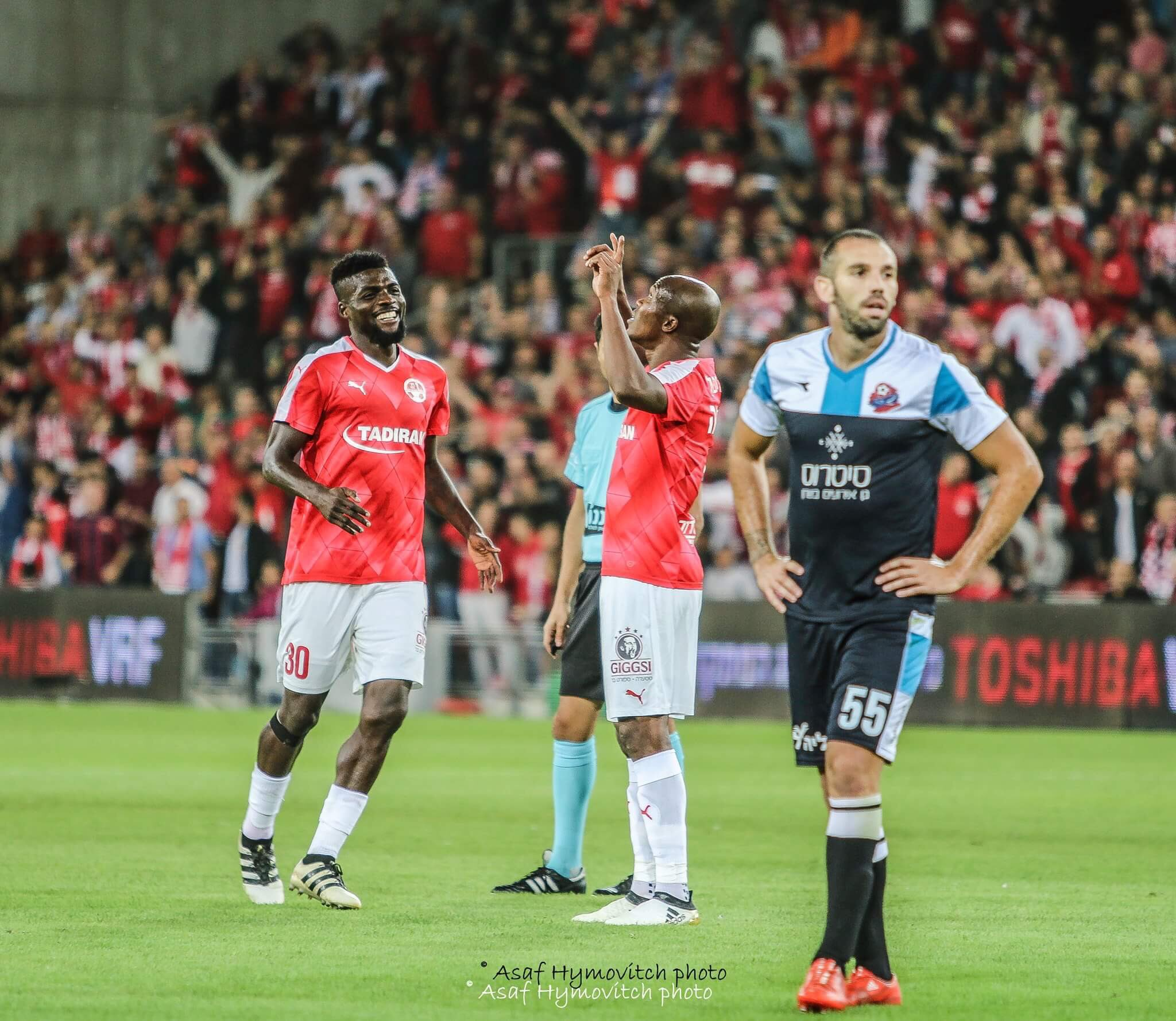 Ogu: Hapoel Be'er Sheva Won't Blow Israeli League Title Chance