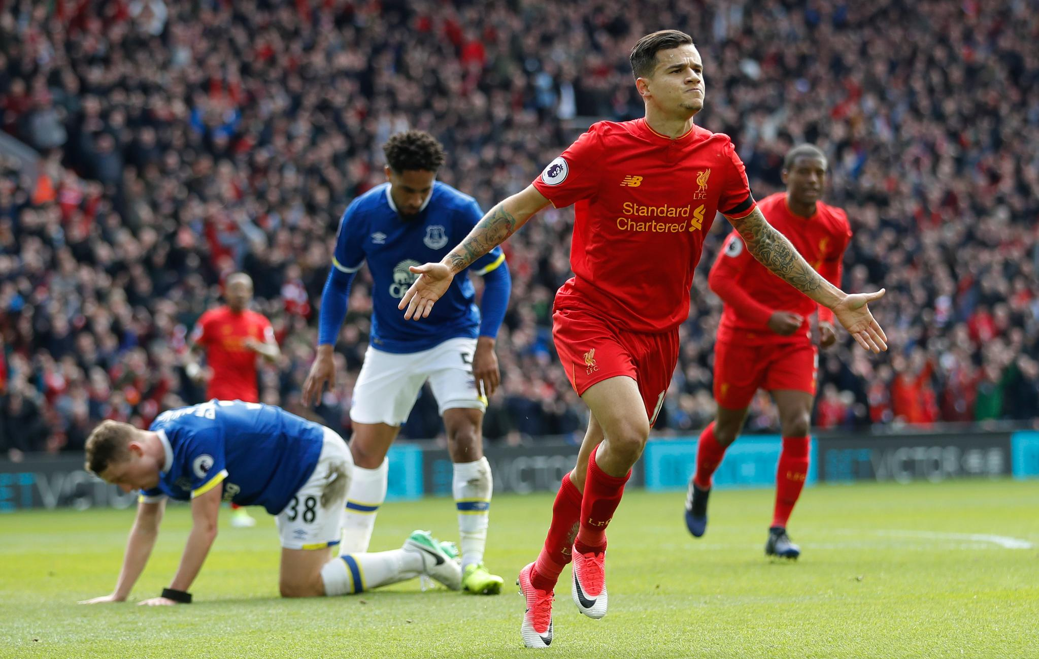 Liverpool Ease Past Everton As Injured Moses Misses Chelsea Vs Palace