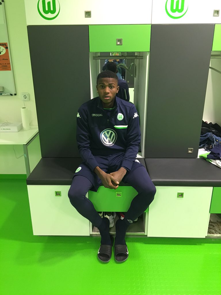 Osimhen Returns To Wolfsburg Training After Injury
