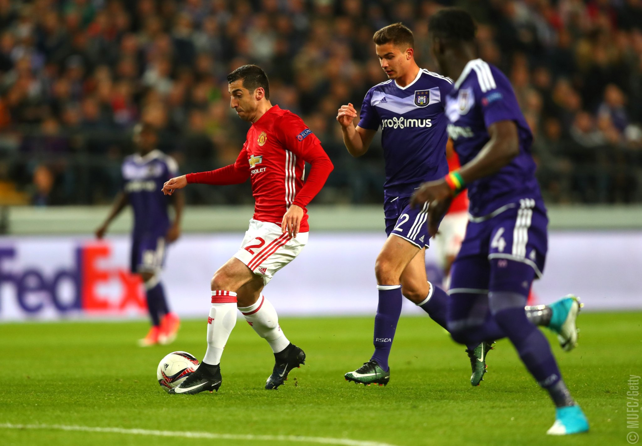 Europa League: Anderlecht Hold Man United As Celta Vigo, Ajax Win