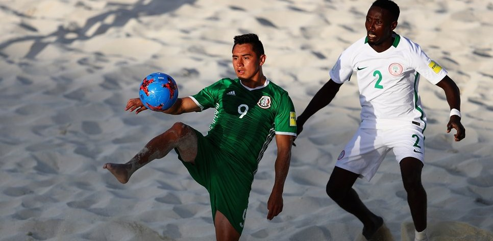 Beach Soccer World Cup: Nigeria Bounce Back To Edge Mexico