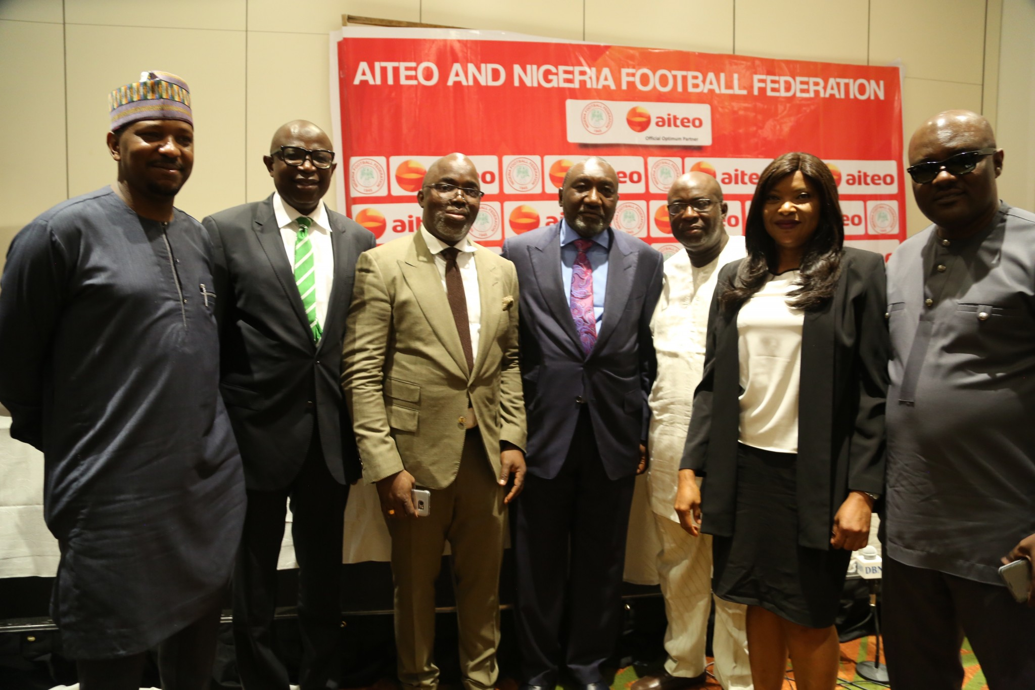 Pinnick Happy As NFF Confirm N2.5Bn Partnership Deal With Aiteo Group