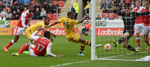 Aluko Voted Fulham's Best Player In Win Over Rotherham