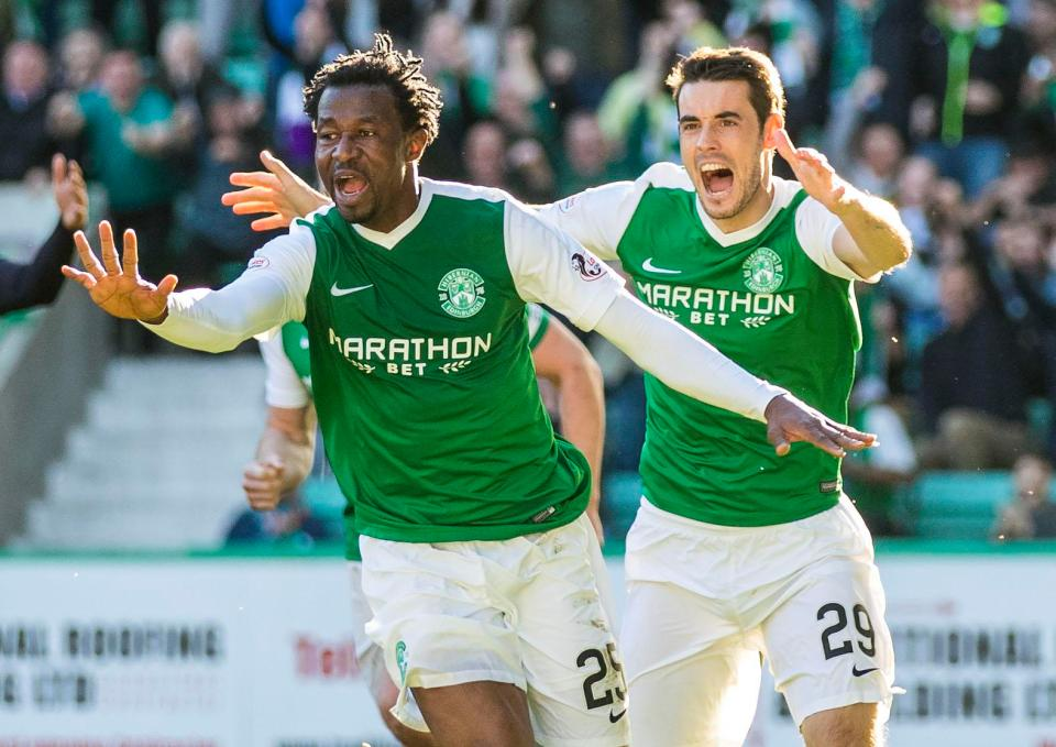Scottish League Cup: Ambrose Scores As Hibernian Destroy 3rd Tier Ayr United