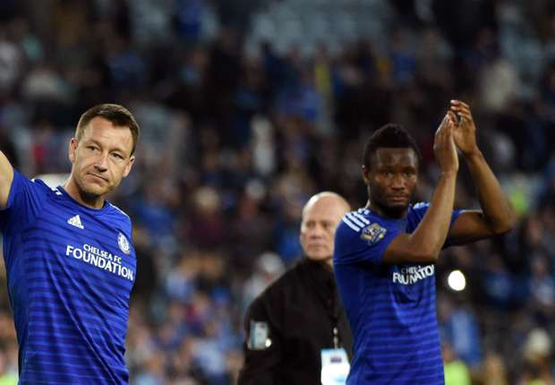 """Mikel Pays Tribute To """"True Football Legend"""" Terry"""