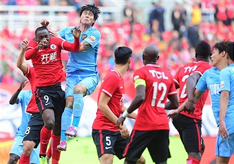 China: Ujah Can't Score As Liaoning Suffer Home Loss