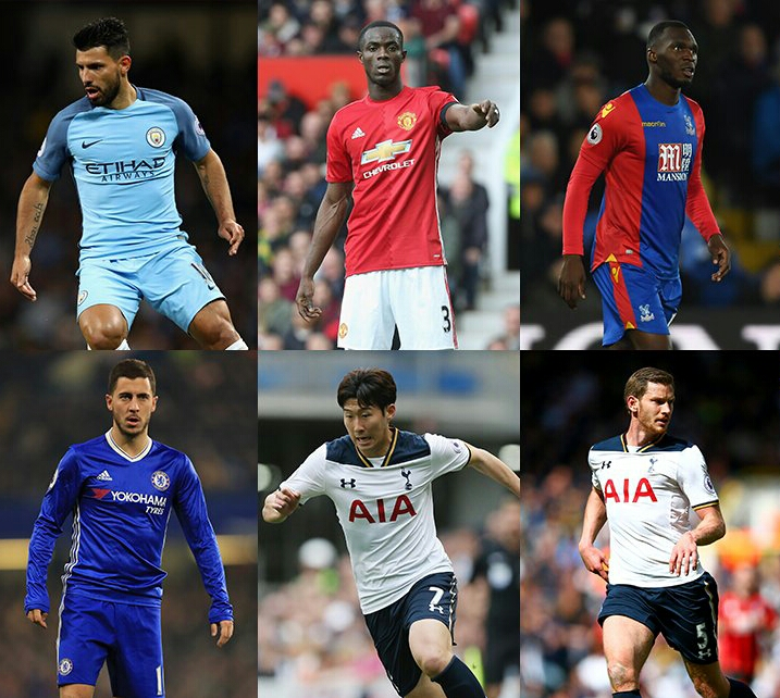 Hazard, Bailly, Aguero, Eriksen Nominated For EPL April Best Player Award