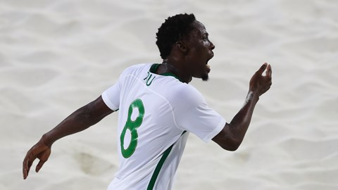 Nigeria's Abu Beaten To Beach Soccer World Cup Best Goal Award