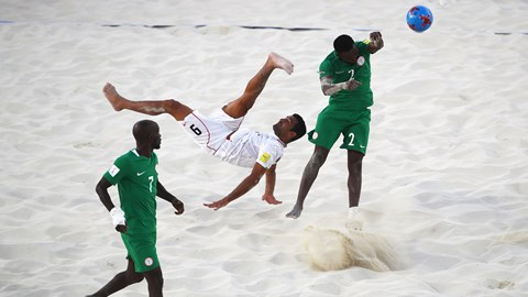 Super Sand Eagles To Arrive From BahamasOn Friday
