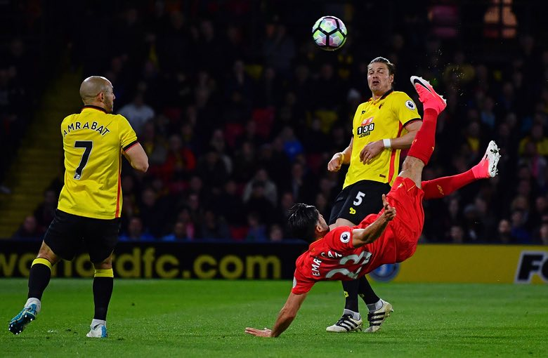 Success On As Can Stunner Fires Liverpool Past Watford