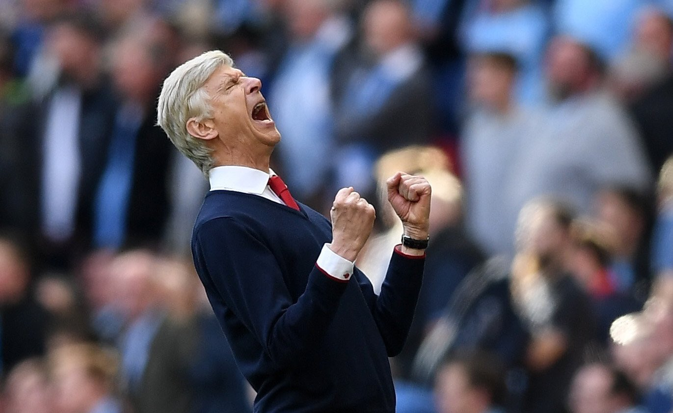 Arsenal Confirm Wenger's Two-Year Extension