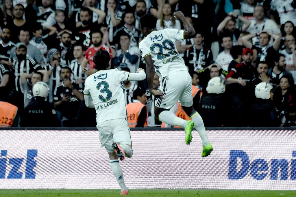 GOAL RUSH: 7 Nigerians Score In Europe; Emenike's Fenerbahce Hold Besiktas