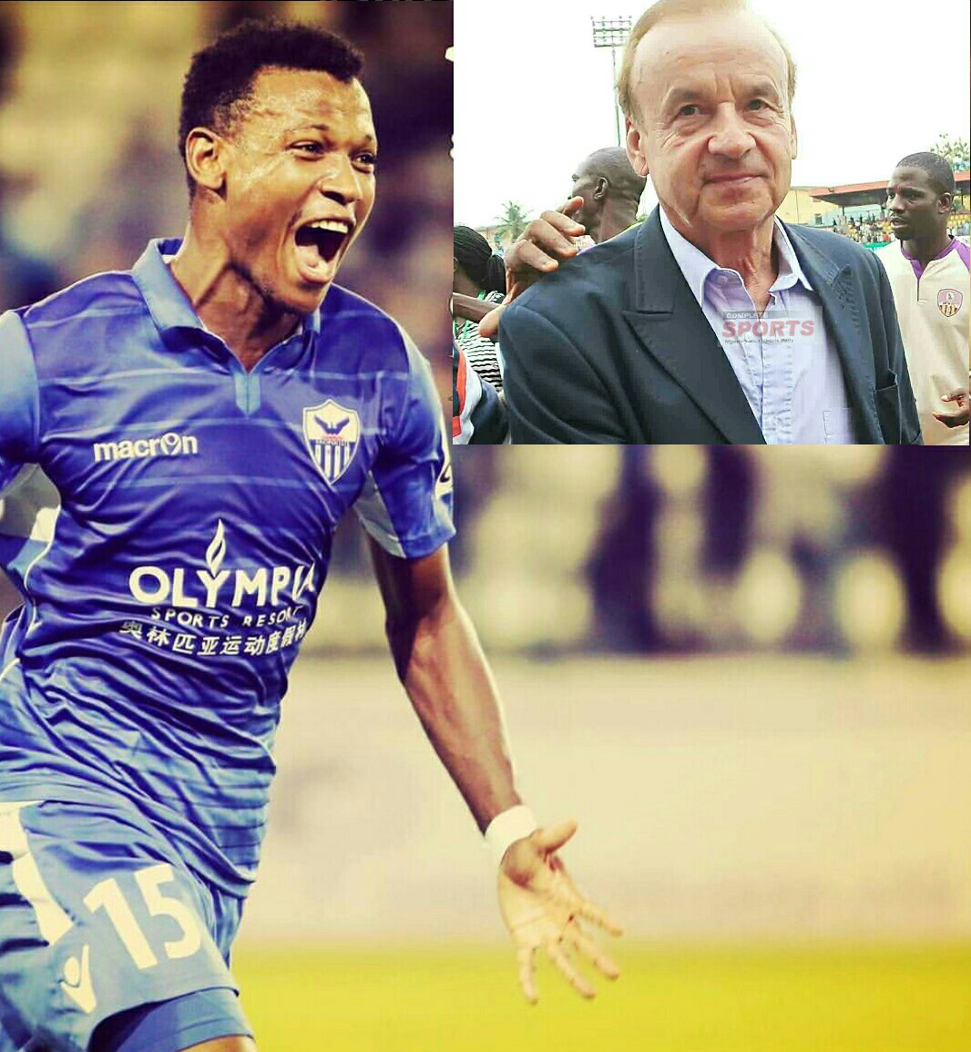 Abdullahi Excited Over Nigeria Call-Up; Thanks Anorthosis FC, Fans For Support