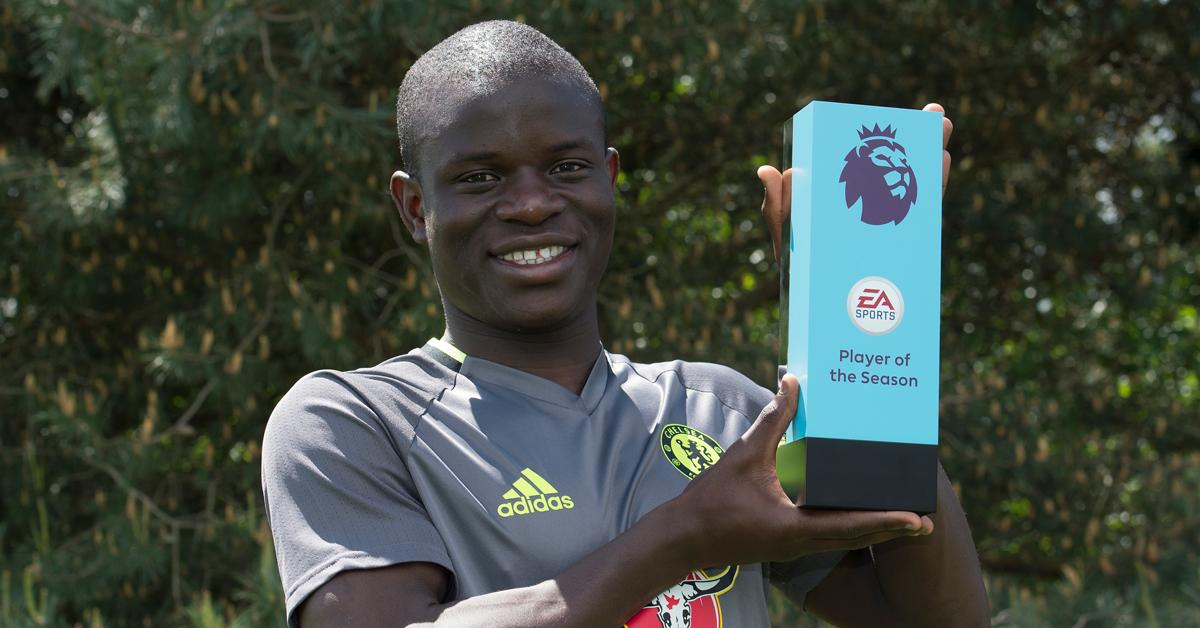 Kante Voted EPL Player Of The Year