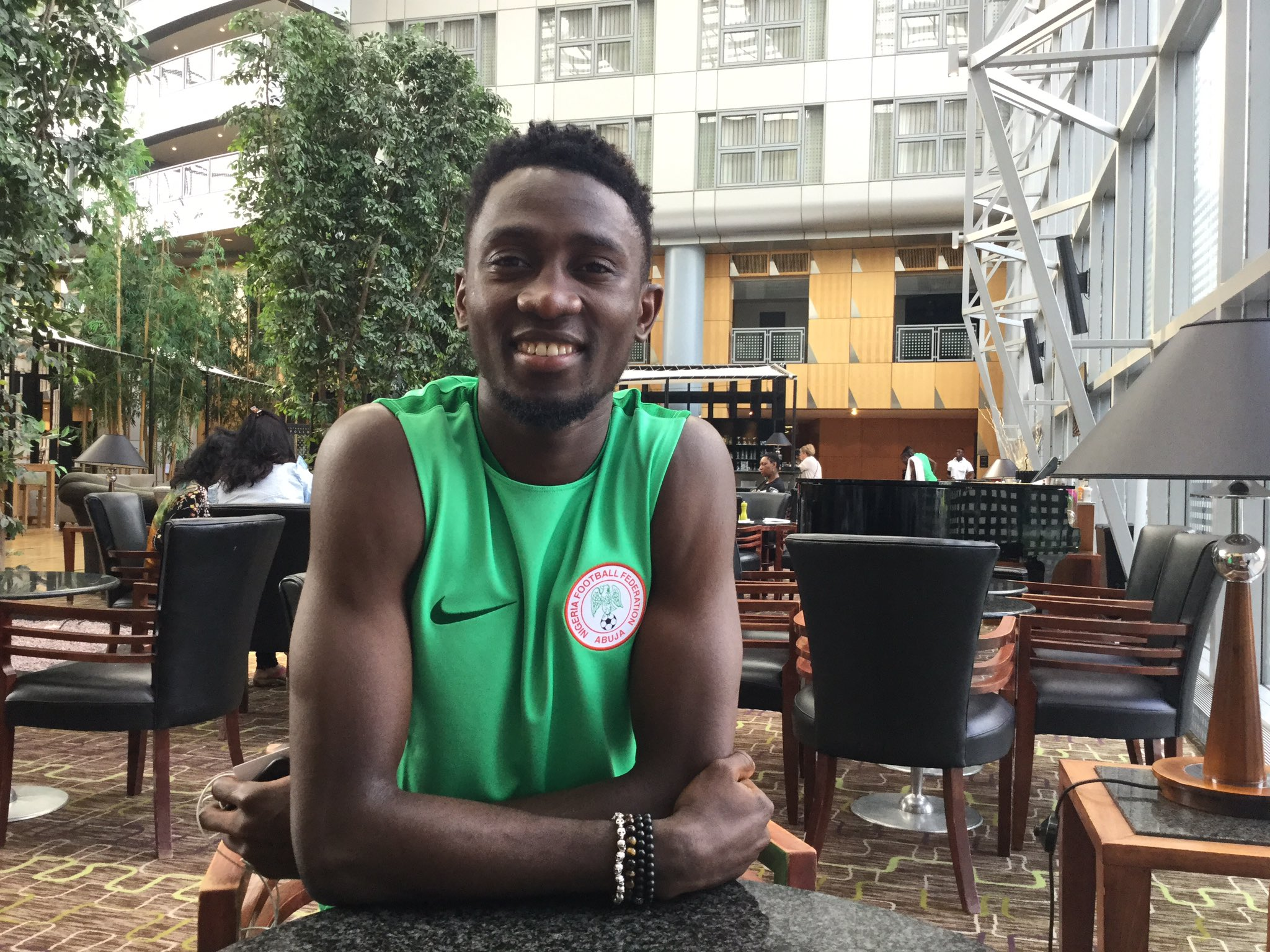 Ndidi, Kayode Arrive In Super Eagles Camp For Togo Clash