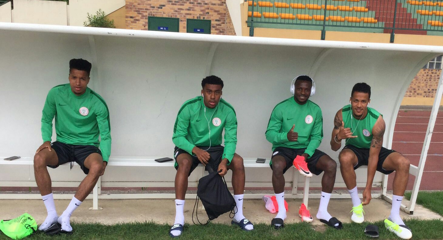 Iwobi Joins Super Eagles In Training Camp; Osimhen, Iheanacho To Arrive Today