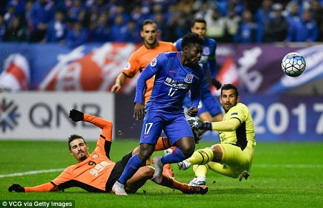 Martins Feared Injured As Shanghai Shenhua Draw With Antlers