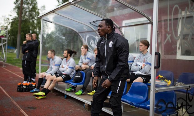 Amokachi Promoted, Now JS Hercules Technical Director