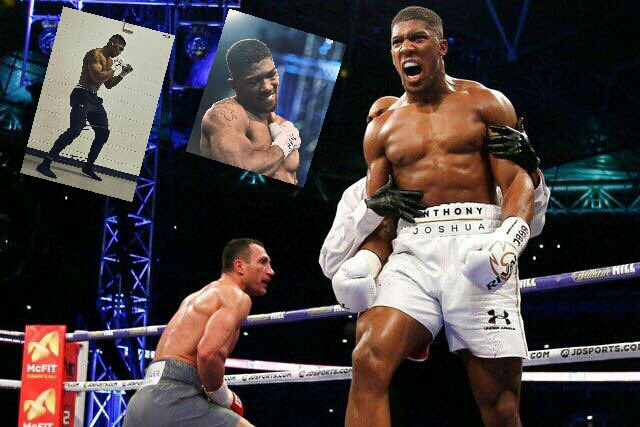 Anthony Joshua Revels In Klitschko Defeat, Reveals Love For Pounded Yam And Egusi Soup