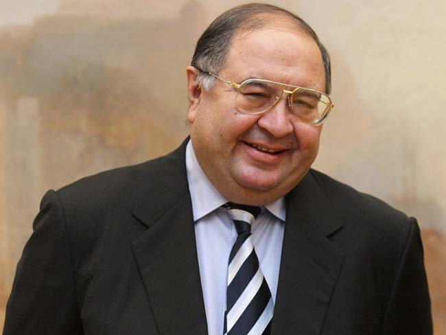 Usmanov Makes $1.3 Billion Bid To Buy Arsenal