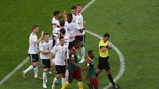 Broos Bemused By VAR 'Melodrama' During Germany Vs Cameroon