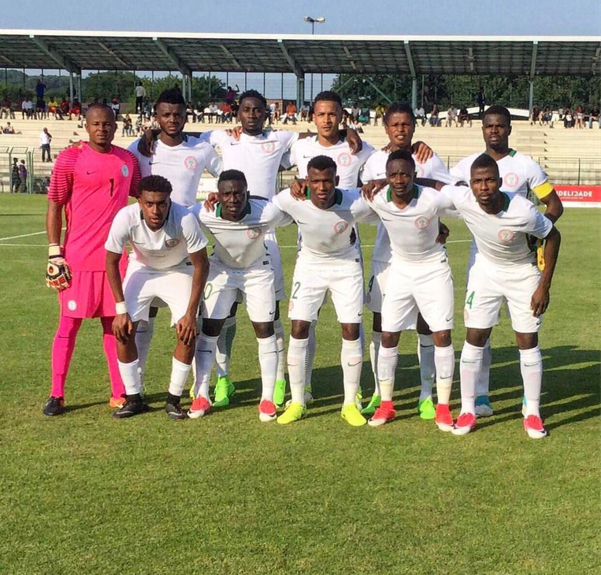 Super Eagles To Hit Uyo On Monday For Bafana Clash
