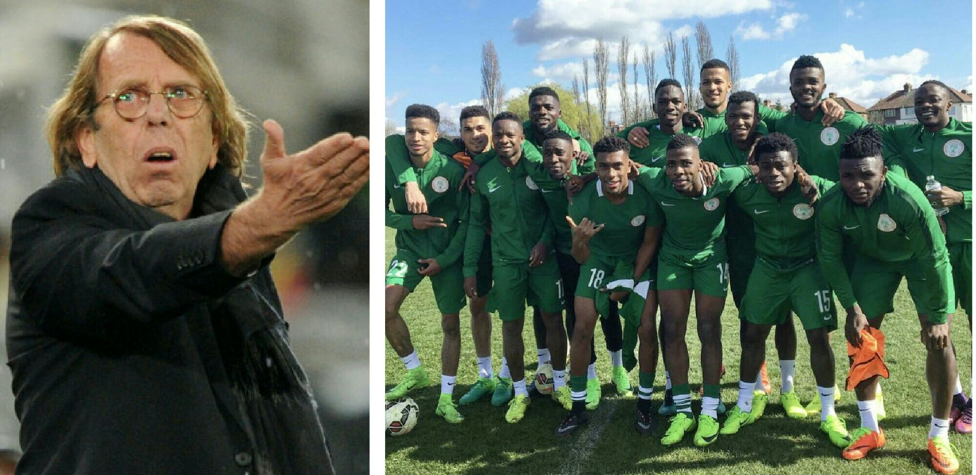 LEROY 4 – 2 NIGERIA!! Super Eagles Report Card Against Teams Coached By Veteran Frenchman