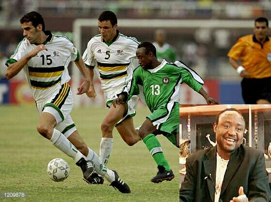 NFF Reminisces About Babangida's Brace Vs Bafana In 2000; Eagles' Training Today Closed To Media