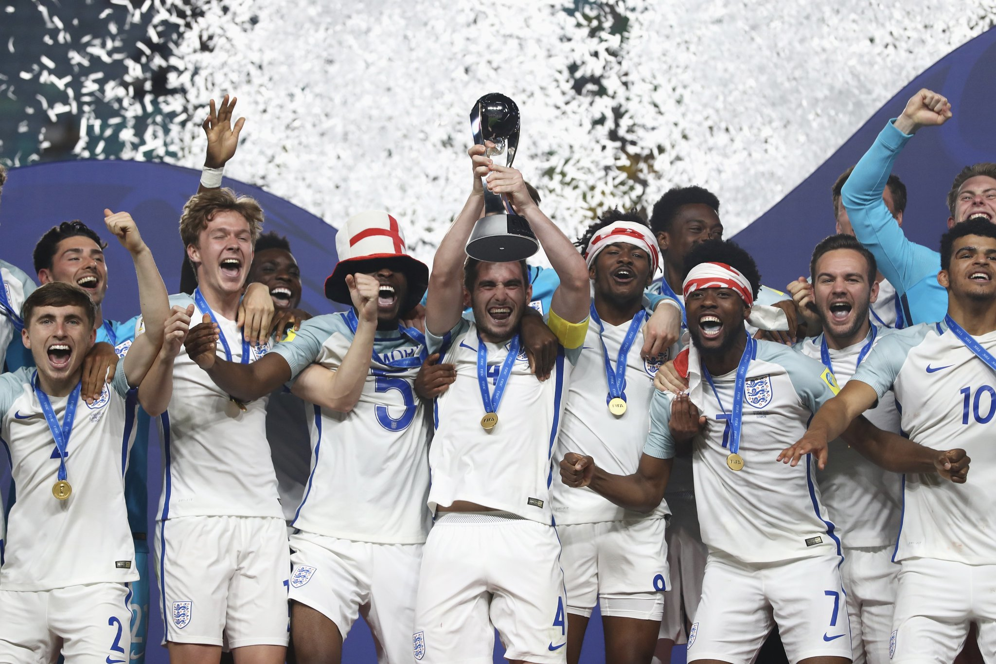 Six Nigerian Youngsters Help England Win Historic U-20 World Cup Title