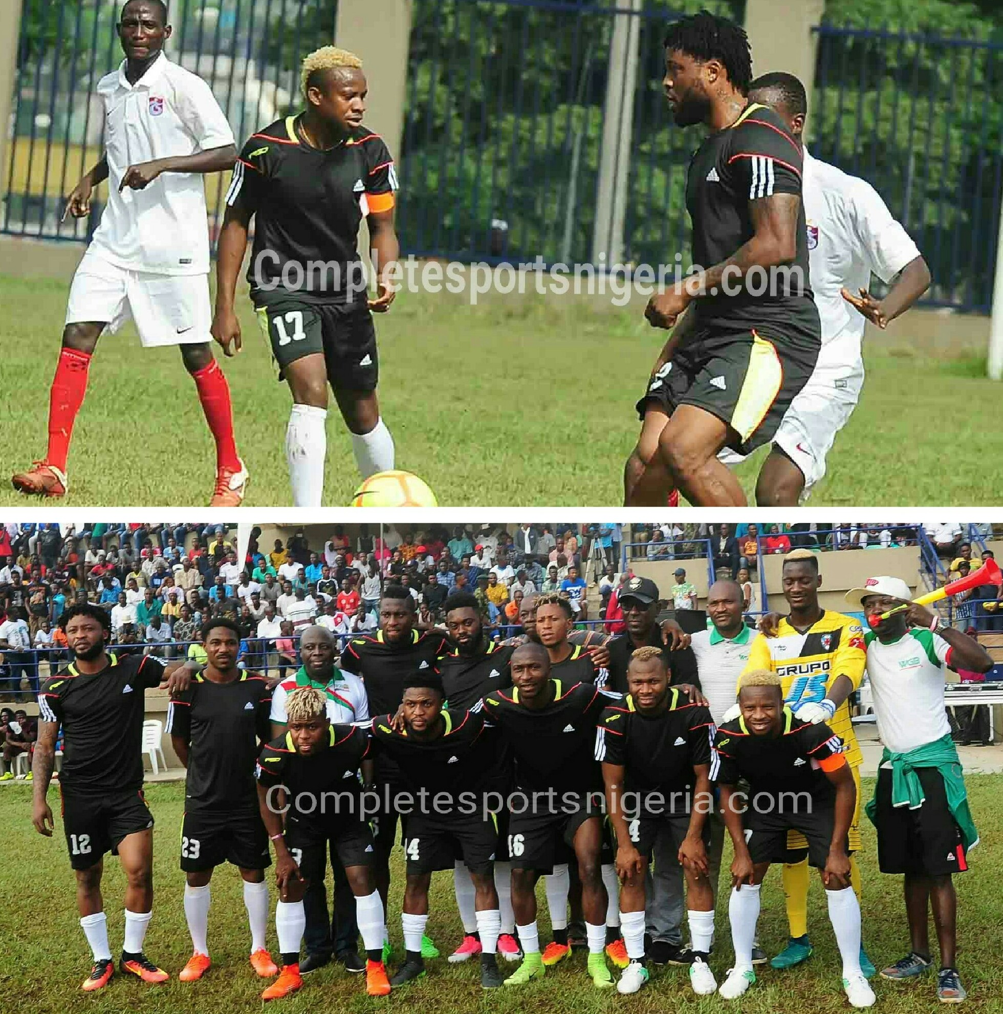Westerlo Spank Super Eagles All Stars 5-1 In Friendly