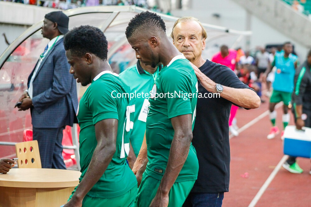 Rohr: My Young Eagles Lacked Killer Instinct, Will Bounce Back Vs Cameroon