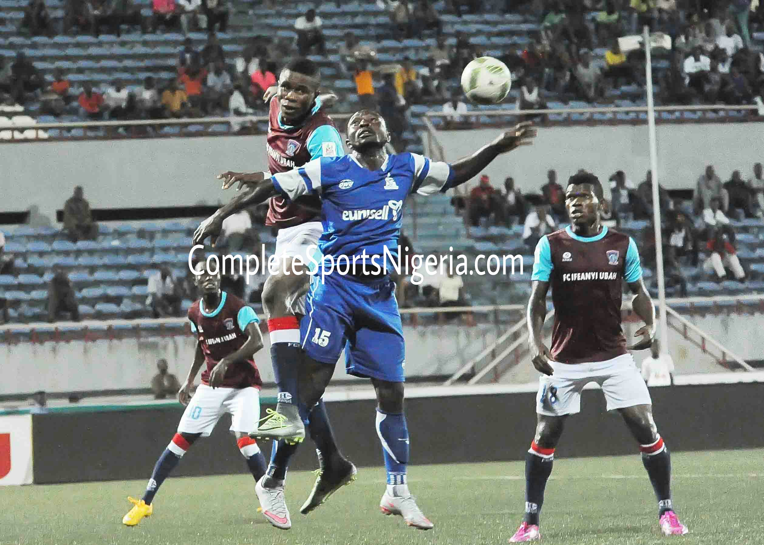 NPFL: Red-Hot IfeanyiUbah Invade Lagos For MFM As Strugglers 3SC Welcome Sunshine