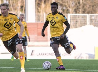 Finnish League: Gabriel Scores, Egwuekwe Benched In KuPS Win Vs PS Kemi