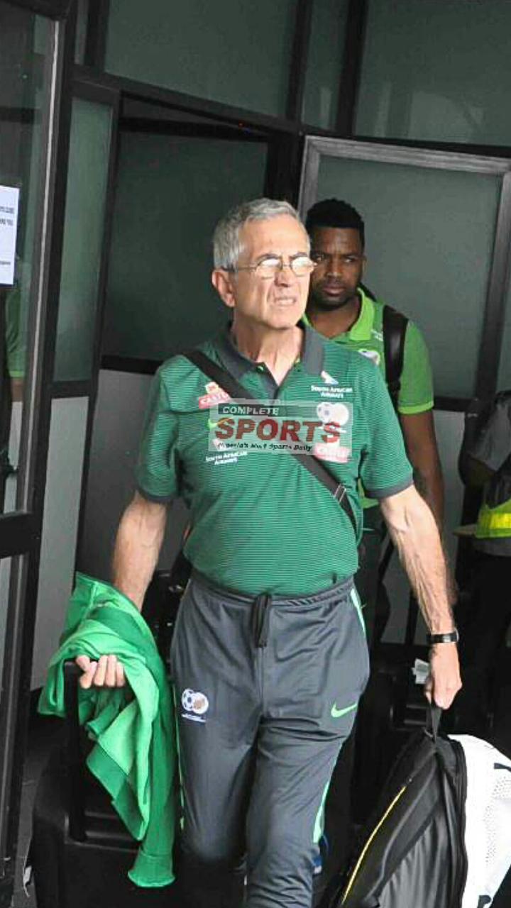 Complete Football Exclusive – Baxter: Bafana's Preparation, My Spying Work And How We'll  Battle Super Eagles