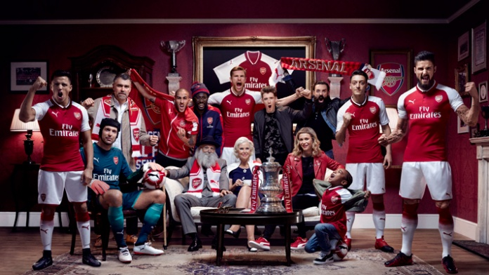 Arsenal Unveil New Home Kit For New SEASON