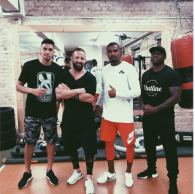 Balogun Back In Gym, Training hard For Full Recovery